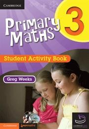 Image for Primary Maths 3 Student Activity Book and Cambridge HOTmaths Bundle