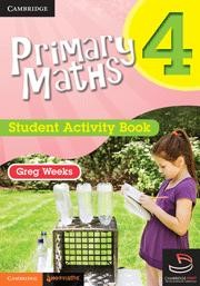 Image for Primary Maths 4 Student Activity Book and Cambridge HOTmaths Bundle