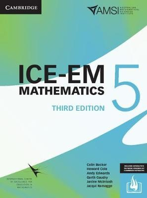 Image for ICE-EM Mathematics Year 5 [Third Edition] (print and interactive textbook powered by Cambridge HOTmaths)