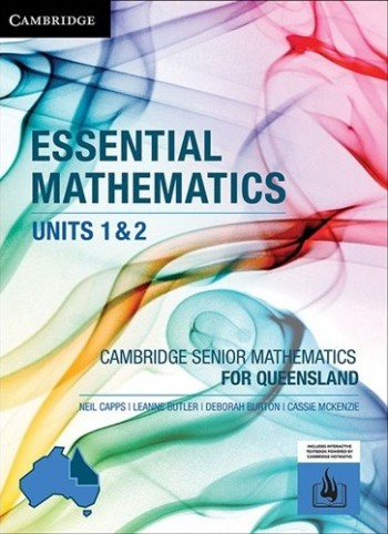 Image for Cambridge Essential Mathematics Units 1&2 for Queensland (print and interactive textbook powered by Cambridge HOTmaths)