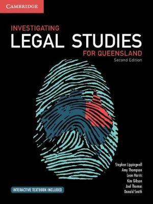 Image for Investigating Legal Studies for Queensland [Second Edition]