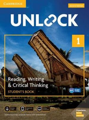 Image for Unlock Level 1 Reading, Writing, & Critical Thinking Student's Book, Mob App and Online Workbook w/ Downloadable Video