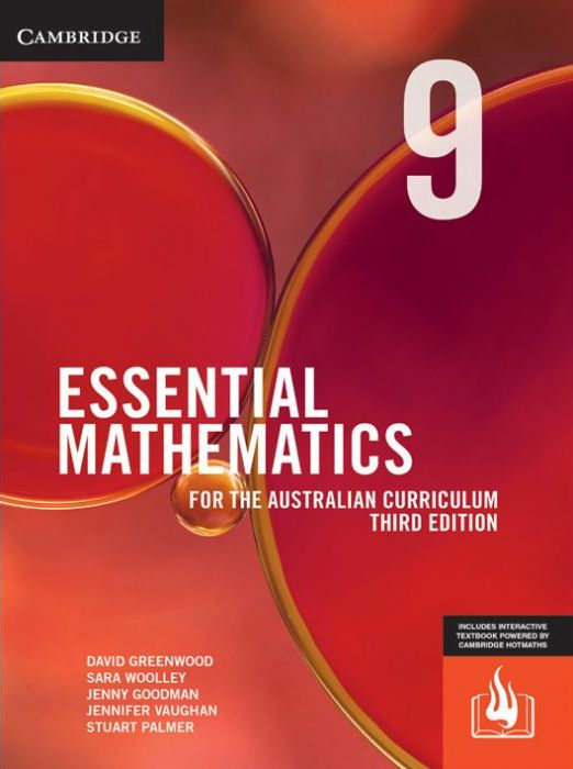 Image for Essential Mathematics for the Australian Curriculum Year 9 [Third Edition] (print and interactive textbook powered by HOTmaths)