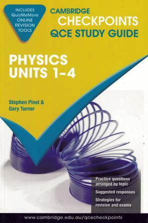 Image for Cambridge Checkpoints QCE Study Guide : Physics Units 1-4
