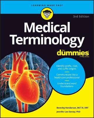 Image for Medical Terminology for Dummies