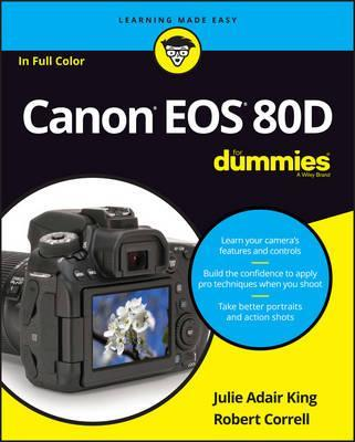 Image for Canon EOS 80D for Dummies