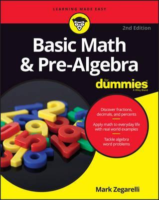 Image for Basic Math and Pre-Algebra for Dummies