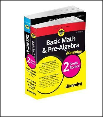 Image for Basic Math and Pre-Algebra for Dummies Book + Workbook Bundle