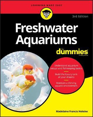 Image for Freshwater Aquariums For Dummies [Third Edition]