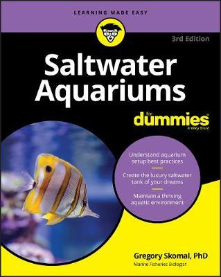 Image for Saltwater Aquariums For Dummies [Third Edition]