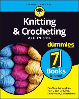 Image for Knitting and Crocheting All-in-One for Dummies