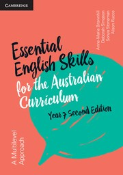 Image for Essential English Skills for the Australian Curriculum Year 7 2nd Edition