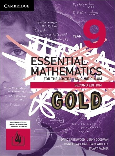 Image for Essential Mathematics Gold for the Australian Curriculum Year 9 [Second Edition] Print and Digital