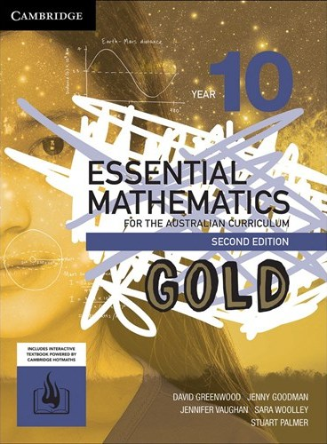 Image for Essential Mathematics Gold for the Australian Curriculum Year 10 [Second Edition] Print and Digital