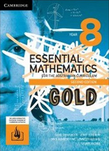 Image for Essential Mathematics Gold for the Australian Curriculum Year 8 [Second Edition] Print and Digital