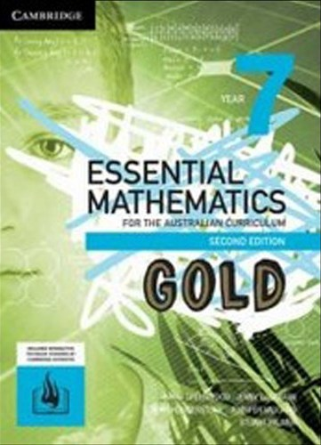 Image for Essential Mathematics Gold for the Australian Curriculum Year 7 [Second Edition] Print and Digital