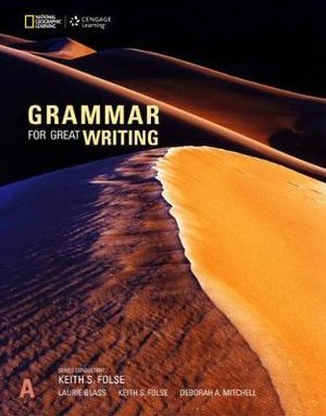 Image for Grammar For Great Writing A - Student Book *** TEMPORARILY OUT OF STOCK ***
