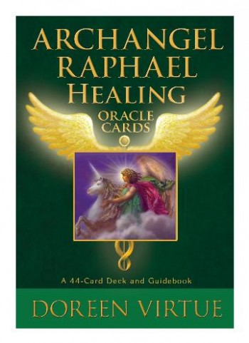 Image for Archangel Raphael Healing Oracle Cards: A 44-Card Deck and Guidebook
