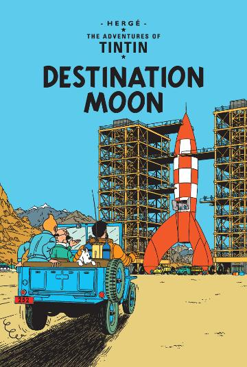 Image for Destination Moon #16 The Adventures of Tintin