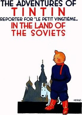Image for Tintin in the Land of the Soviets #1 The Adventures of Tintin