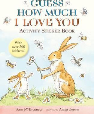 Image for Guess How Much I Love You : Activity Sticker Book