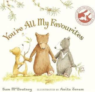 Image for You're All My Favourites [Board Book]