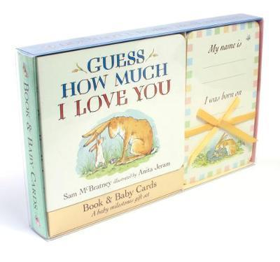 Image for Guess How Much I Love You : Book and Baby Cards Milestone Moments Gift Set