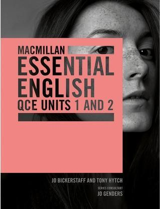 Image for Macmillan Essential English QCE Units 1&2 DAC Student Book + Digital