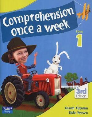 Image for Comprehension Once a Week Book 1