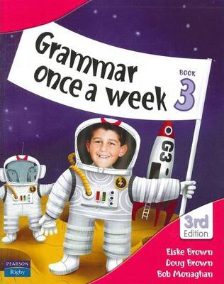 Image for Grammar Once a Week Book 3