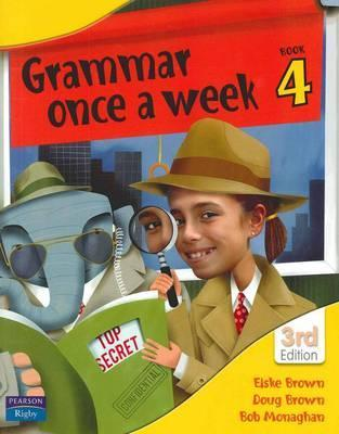 Image for Grammar Once a Week Book 4