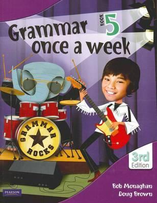 Image for Grammar Once a Week Book 5