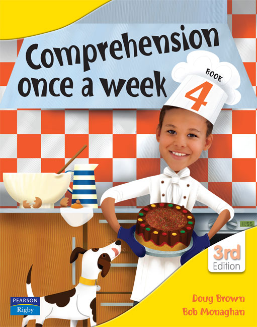Image for Comprehension Once a Week Book 4