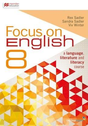 Image for Focus on English 8 Student Book + Digital