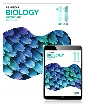 Image for Pearson Biology Queensland 11 Student Book with eBook