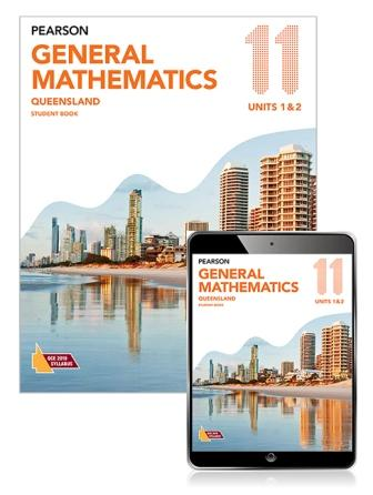 Image for Pearson General Mathematics Queensland 11 Student Book with eBook