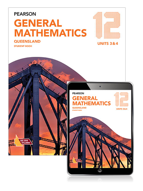 Image for Pearson General Mathematics Queensland 12 Student Book with eBook