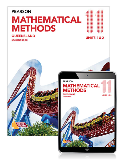 Image for Pearson Mathematical Methods Queensland 11 Student Book with eBook
