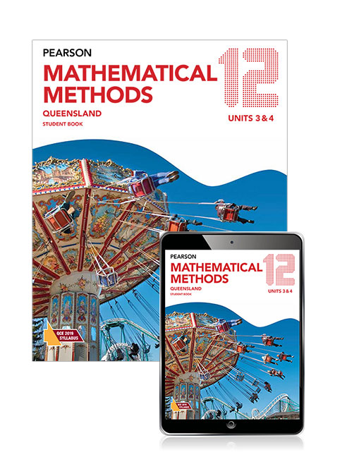 Image for Pearson Mathematical Methods Queensland 12 Student Book with eBook