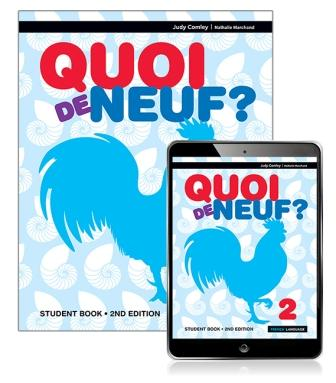 Image for Quoi de neuf ? 2 Student Book with eBook [Second Edition]