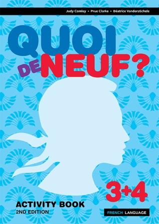 Image for Quoi de Neuf ? 3+4 Activity Book [Second Edition]