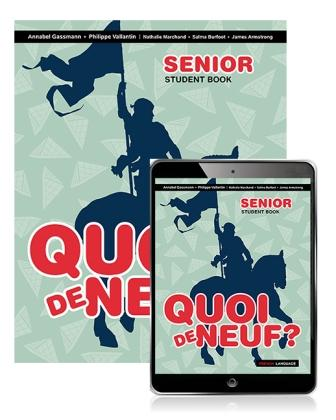 Image for Quoi de Neuf ? Senior Student Book with eBook