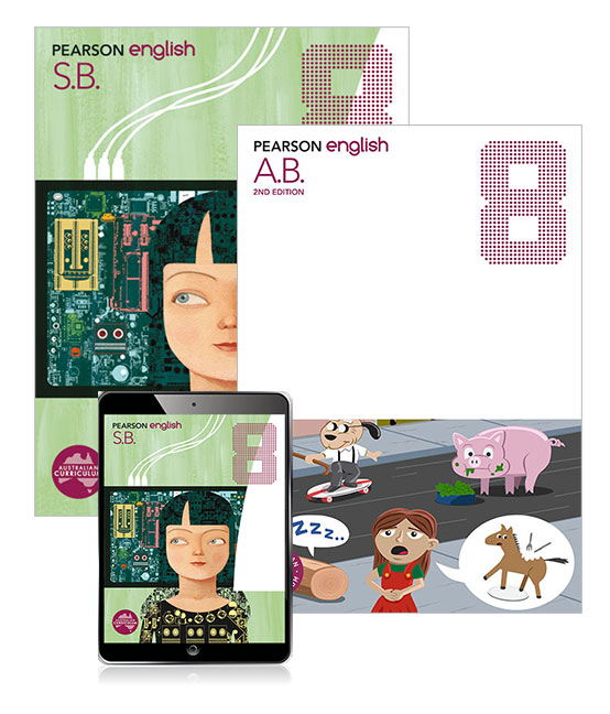 Image for Pearson English 8 Student Book and Activity Book with eBook