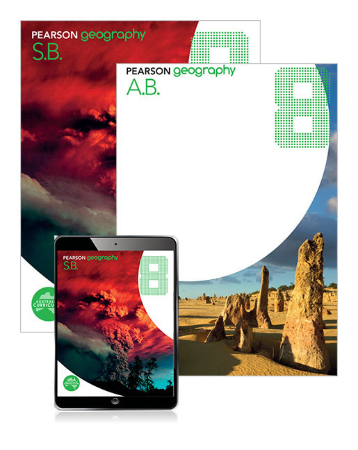 Image for Pearson Geography 8 Student Book and Activity Book with eBook