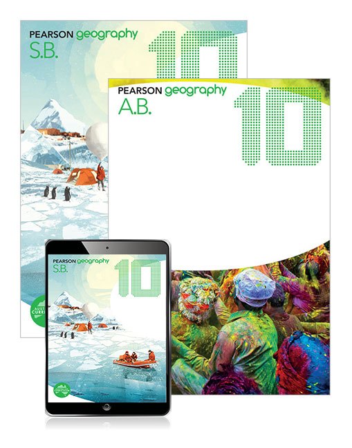 Image for Pearson Geography 10 Student Book, eBook and Activity Book