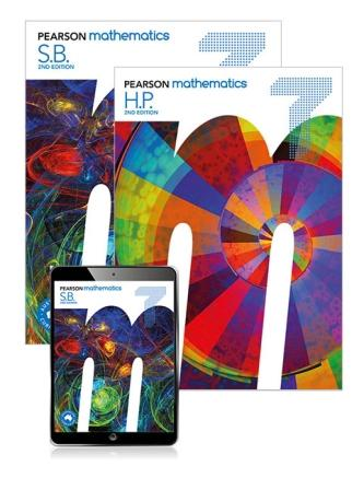 Image for Pearson Mathematics 7 Student Book, eBook, Lightbook Starter and Homework Program [Second Edition]