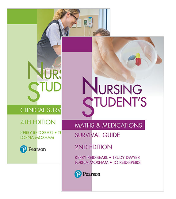 Image for Nursing Student's Clinical Survival Guide 4e + Nursing Student's Maths & Medications Survival Guide 2e Value Pack ***TEMPORARILY OUT OF STOCK ***