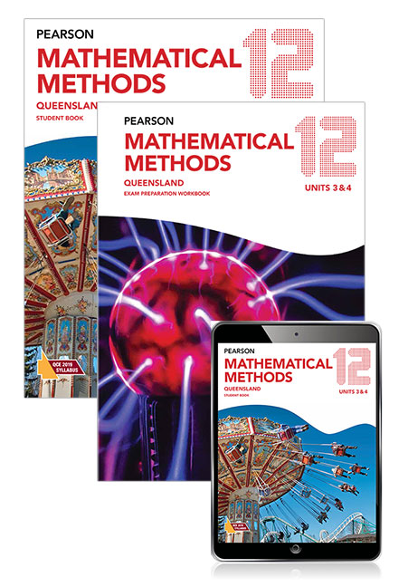 Image for Pearson Mathematical Methods Queensland 12 Exam Preparation Workbook + Student Book with eBook Combo Pack