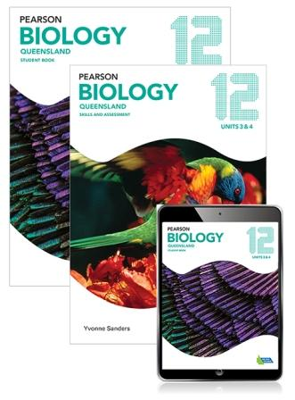 Image for Pearson Biology Queensland 12 Student Book, eBook and Skills & Assessment Book Combo Pack