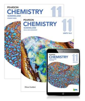 Image for Pearson Chemistry Queensland 11 Student Book, eBook and Skills & Assessment Book Combo Pack
